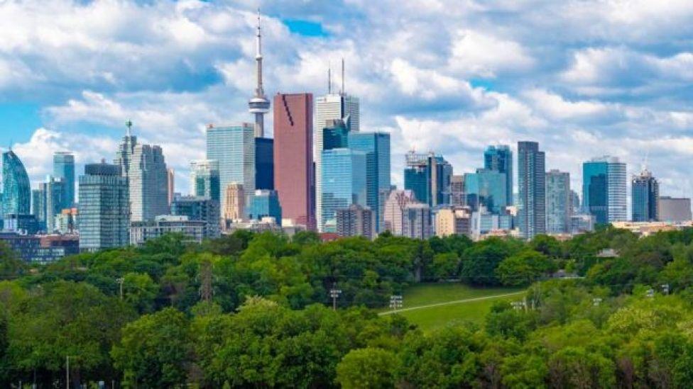 ناطحات السحاب في تورنتو