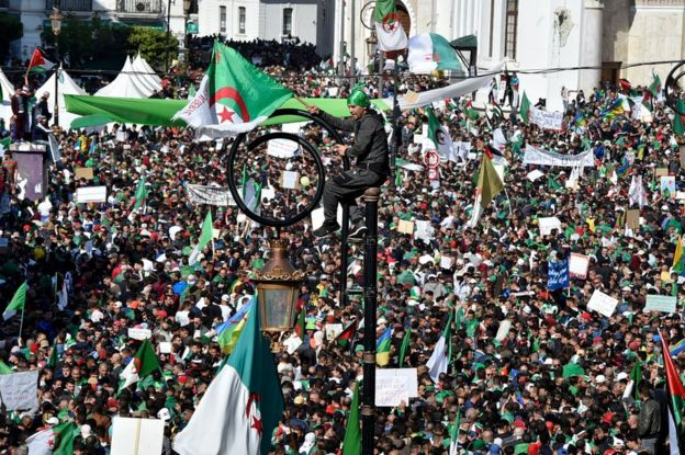 Rally on 29 March 2019 in Algiers