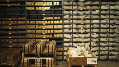 Gold in Bank of New York
