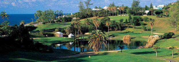 Turtle Hill, campo de golf en las Islas Bermudas