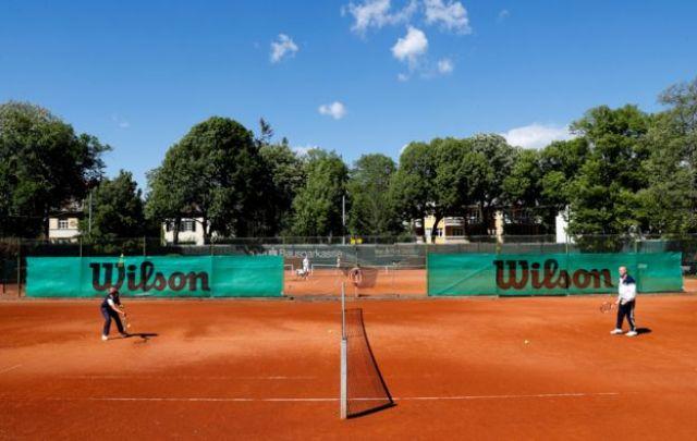 A tennis club in Vienna, Austria