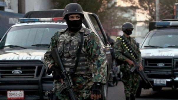 Soldados mexicanos en Veracruz (archivo)