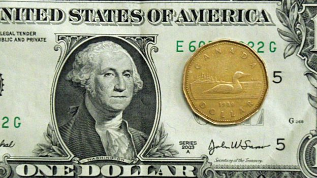 Imagem mostra cédula de 1 dólar