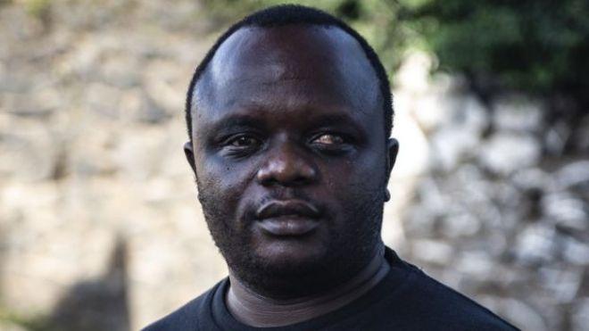 Ilot Alphonse, co-founder of the Congo Men's Network