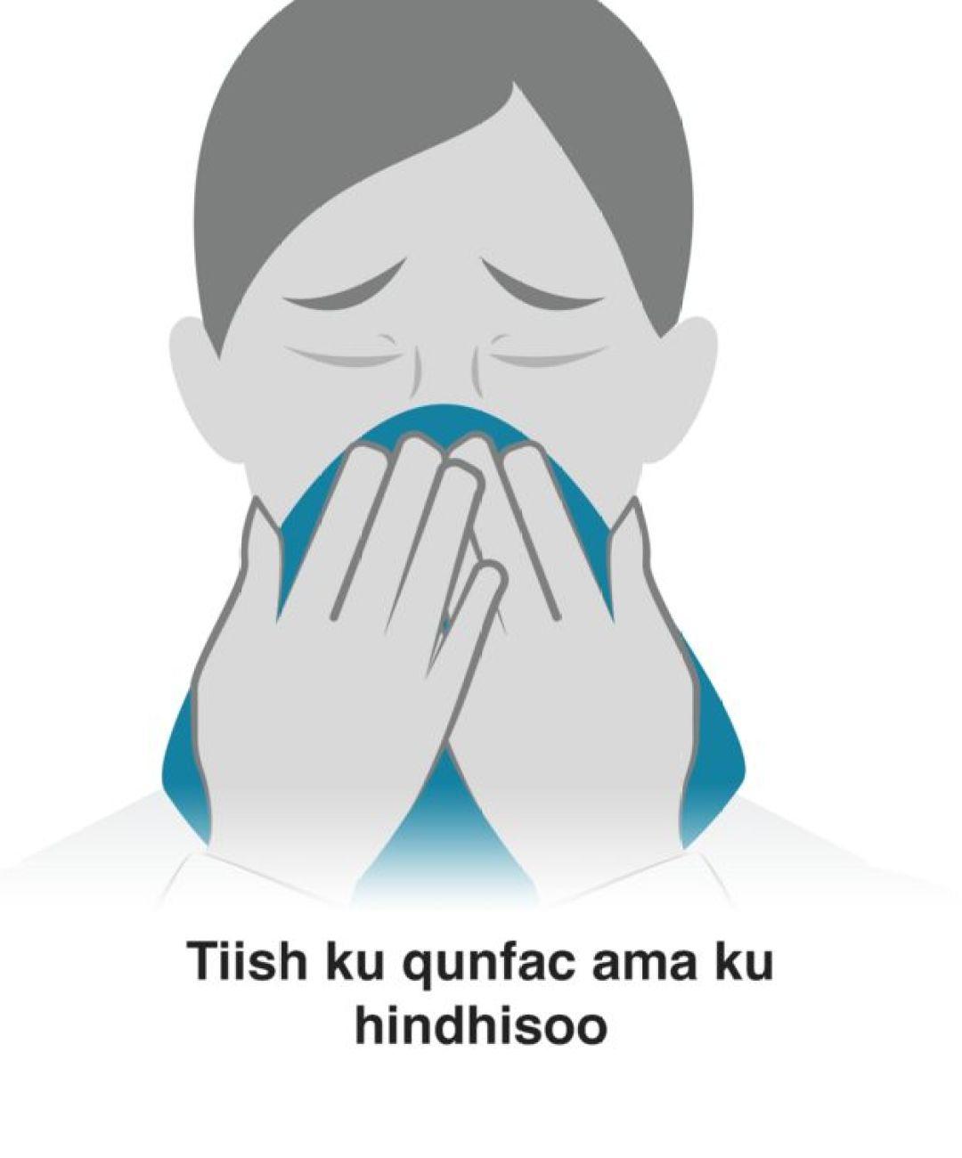 Tiish isticmaal si aad u hindisooto ama u qufacdo
