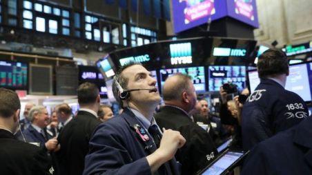 Operadores em bolsa de valores de Nueva York