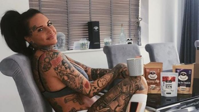 Jemma Lucy's banned Instagram ad post featuring the reality star posing with weight loss coffee