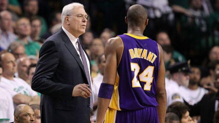 Phil Jackson ve Kobe Bryant