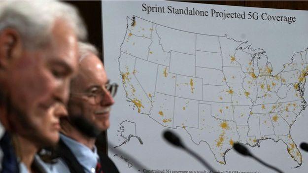 Debate sobre el 5G en Estados Unidos.