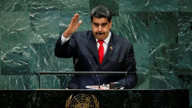 Nicolás Maduro en la Asamblea General de Naciones Unidas