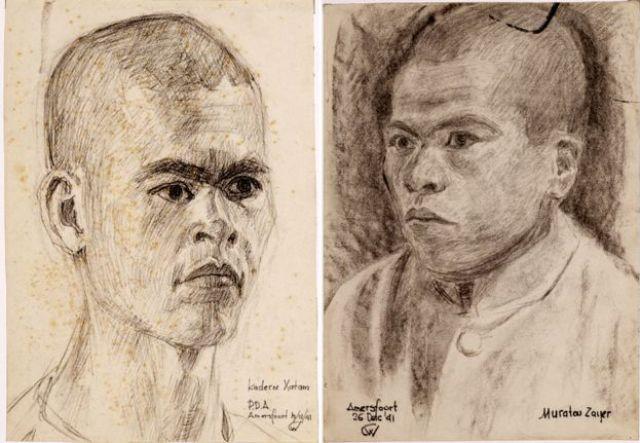 Hatam Kadirov y Zair Muratov.