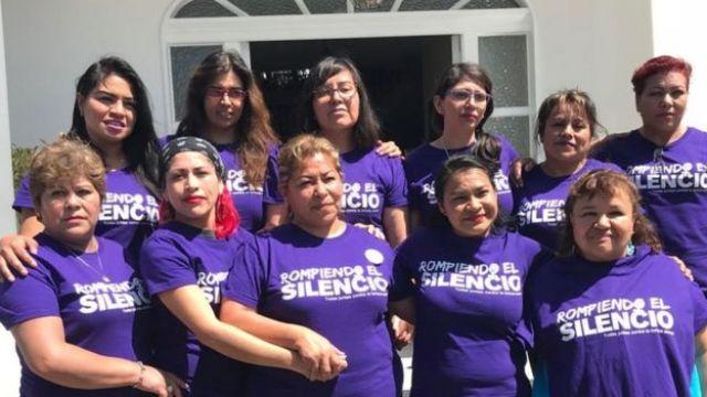 Mujeres sobrevivientes de tortura sexual en Atenco.