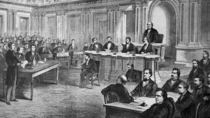 El juicio político del presidente Andrew Johnson