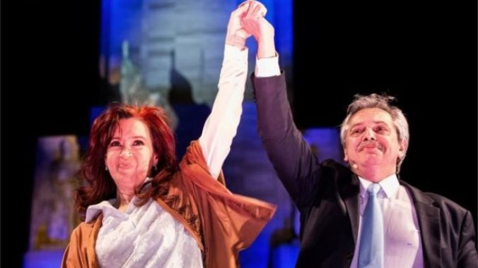 Cristina Fernández de Kirchner and Alberto