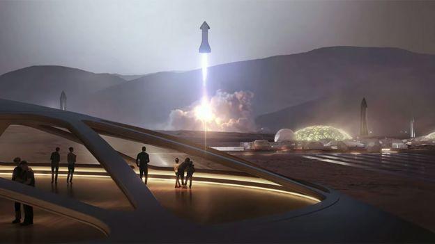 Artwork of Starship