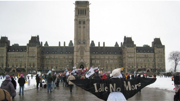 Protests in Ottawa
