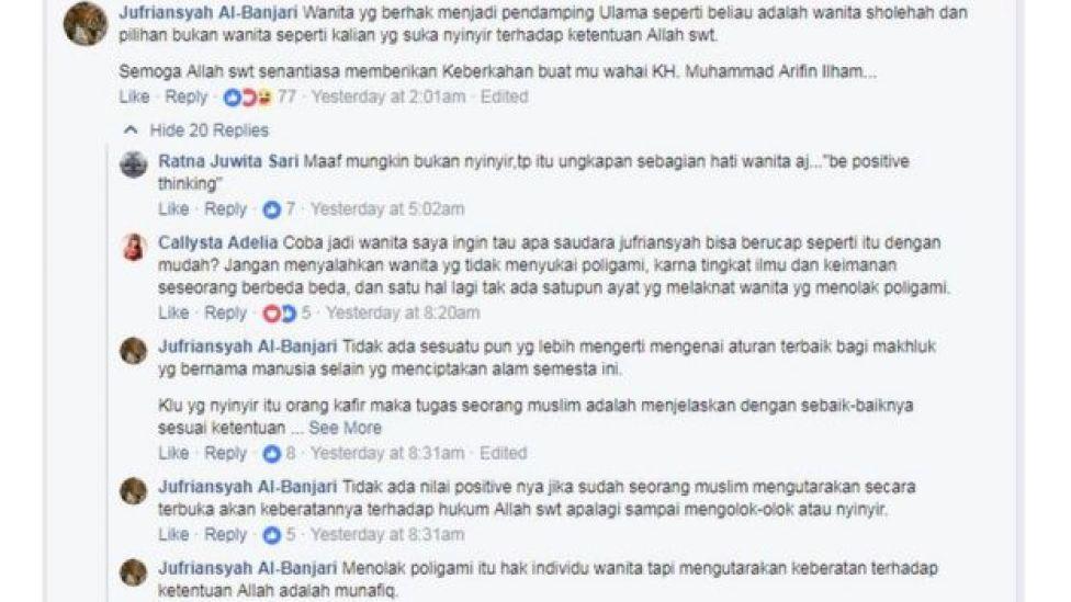 Jufriansyah Al-Banjari/Facebook