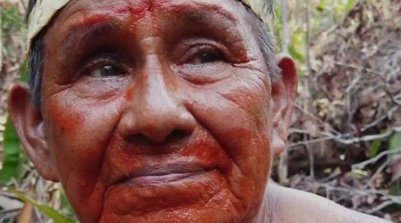 "Raimundo Mura, líder de la tribu indígena Mura, de Brasil:""Daré hasta mi última gota de sangre por esta selva"""