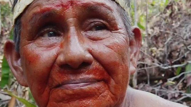 Raimundo Mura, líder indígena Mura