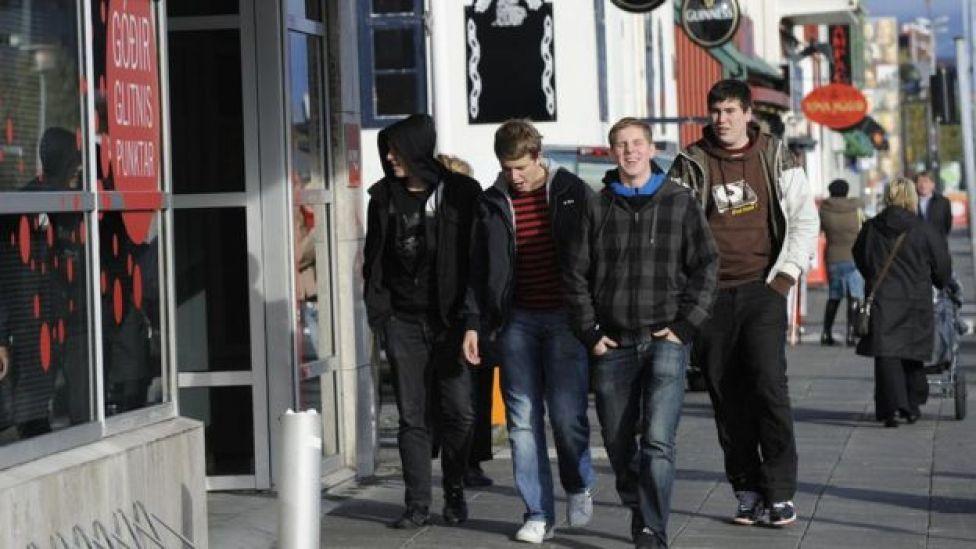 Adolescentes en Reikiavik