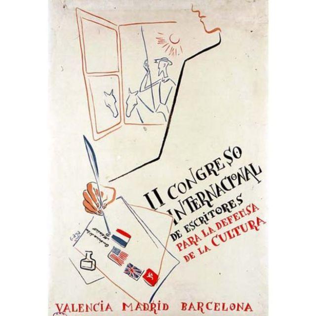 II Congreso Internacional de Intelectuales para la Defensa de la Cultura, celebrado en 1937 en Valencia, España.