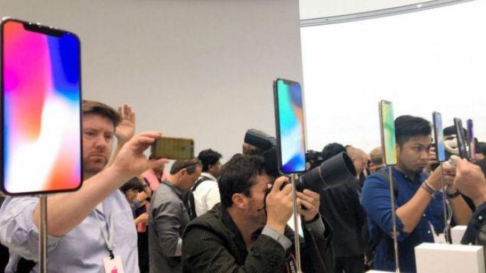 Presentación del celular de Apple