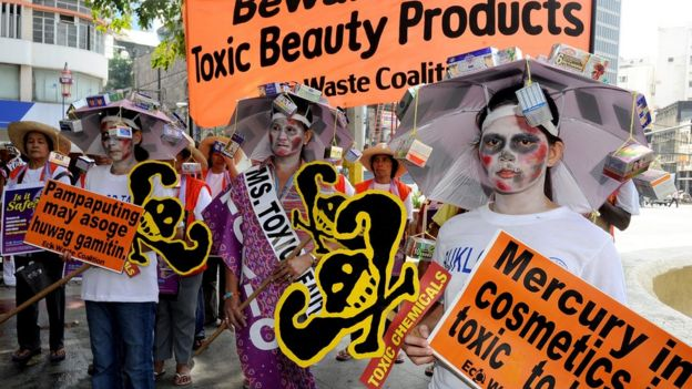 Los productos con mercurio han sido prohibidos en la mayoría de los países.