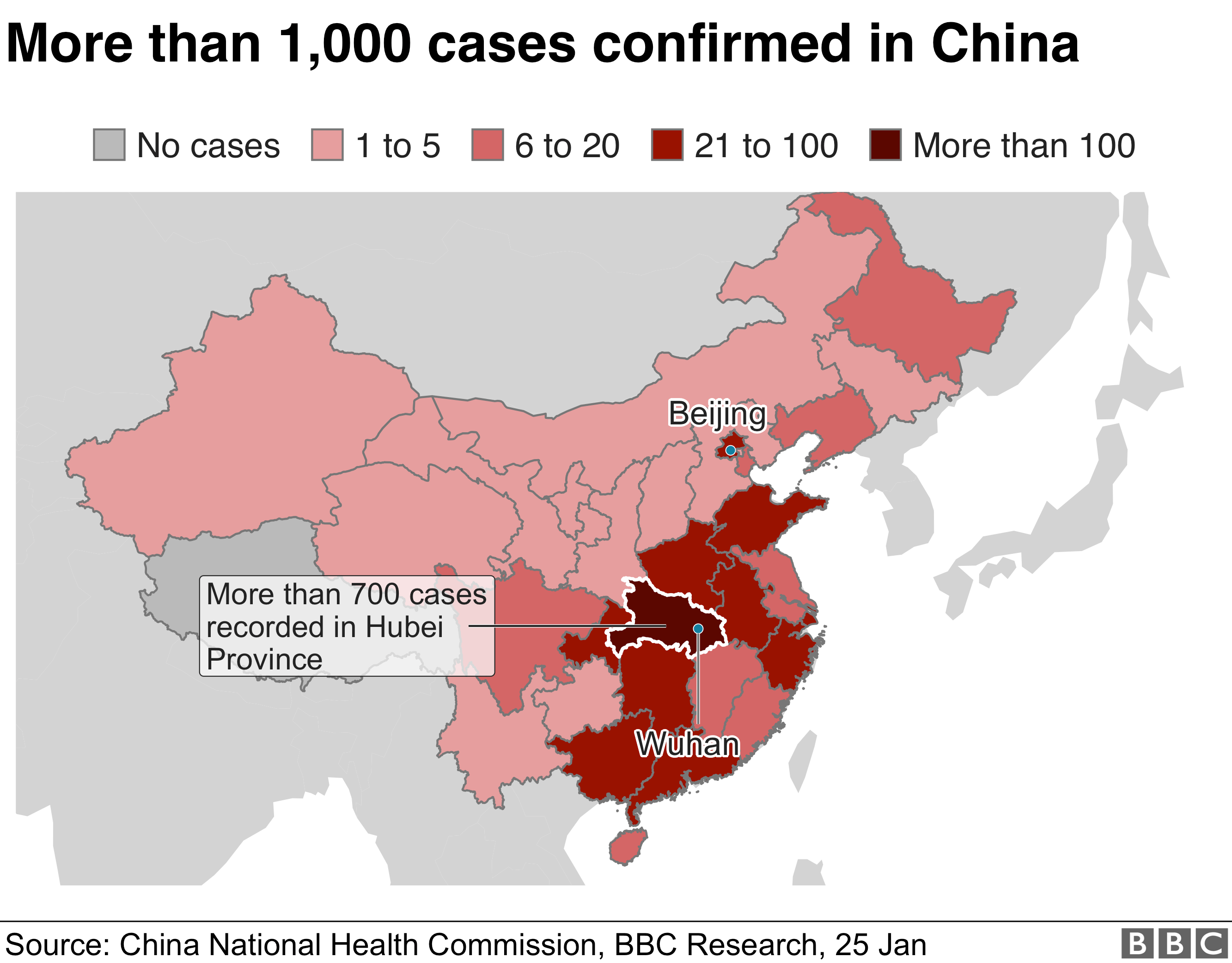 China coronavirus: Death toll rises as disease spreads - BBC News