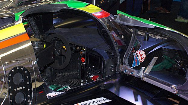 Inside the Strakka Dome S103