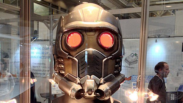 Star Lord helmet from Guardians of the Galaxy