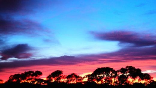 Sunrise over Maralinga