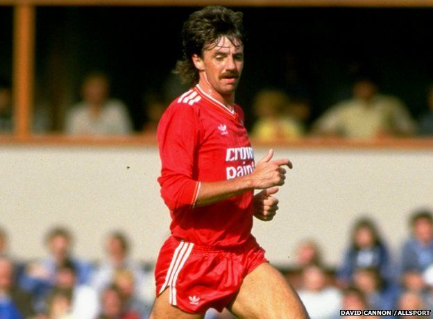Mark Lawrenson of Liverpool (pic: David Cannon /Allsport) at Newcastle in August 1985