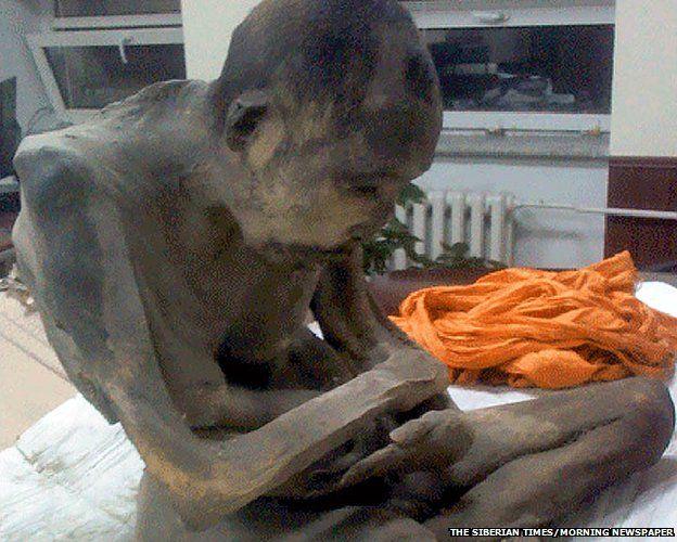 mummified monk in mongolia