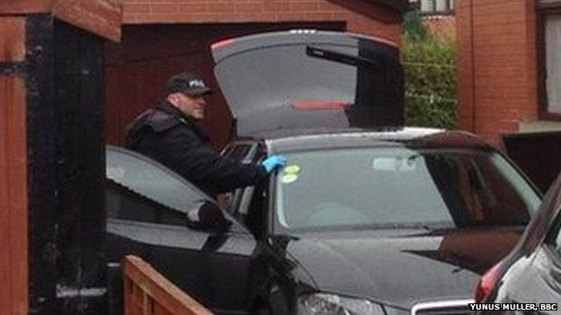 Search of Shakil Ahmed's house in Rochdale