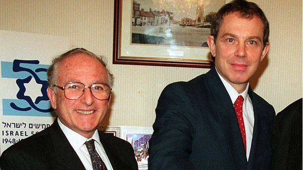 Lord Janner and Tony Blair
