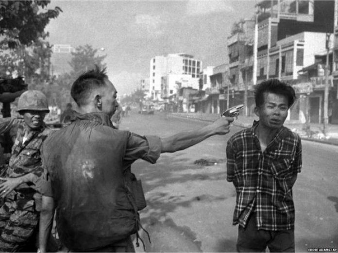 South Vietnamese General Nguyen Ngoc Loan executing a Viet Cong officer