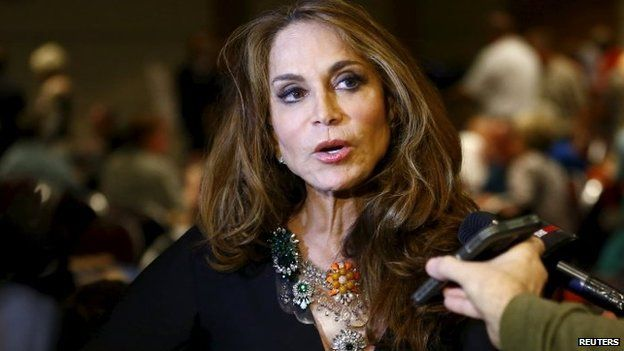 Political blogger Pamela Geller (03 May 2015)