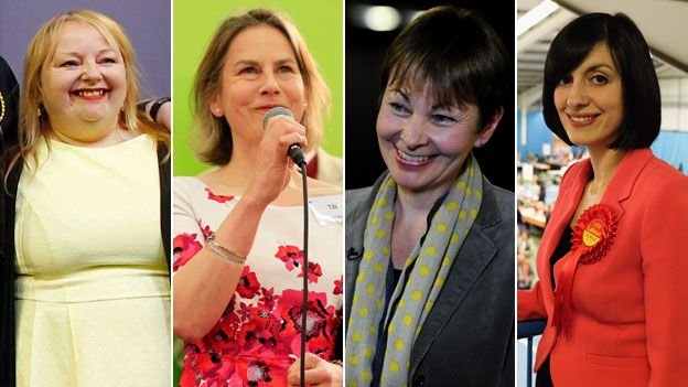 Anne McLaughlin (SNP, Glasgow North East), Tania Mathias (Con, Twickenham), Caroline Lucas (Green, Brighton Pavilion), Bridget Phillipson (Lab, Houghton and Sunderland South)