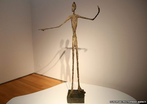 Man Pointing by Alberto Giacometti