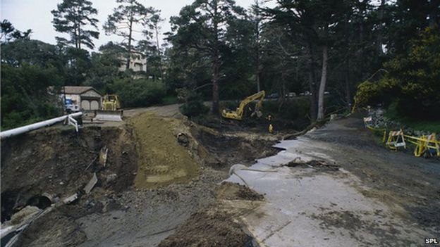 Aftermath of flooding in California put down to El Nino