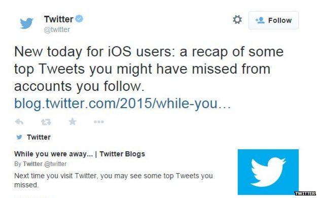 Tweet from Twitter