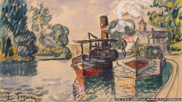 Watercolour by Paul Signac