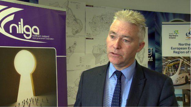 Northern Ireland Local Government Association CEO Derek McCallan