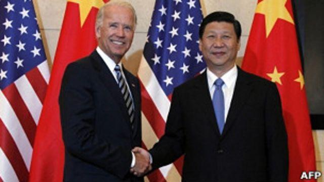中美座谈会习近平与拜登互相示好- BBC News 中文