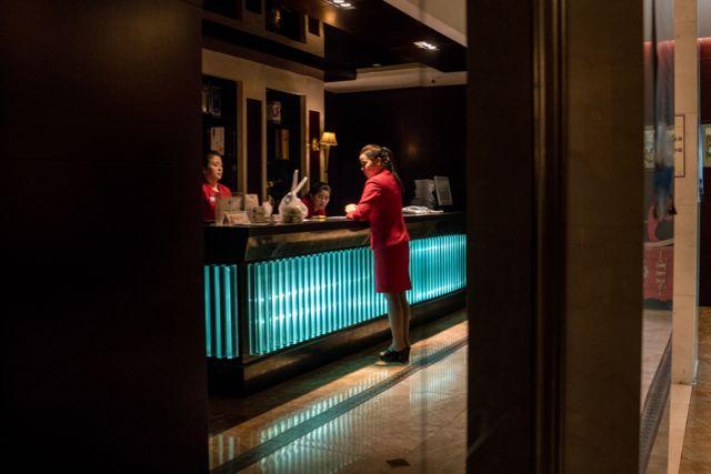 중국 선양 칠보산 호텔