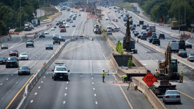 Megacarreteras en Estados Unidos