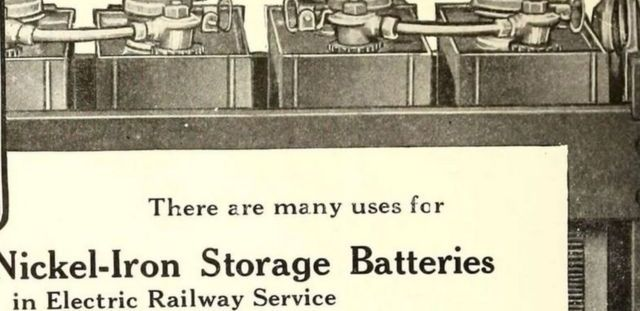 Une batterie d'epoque