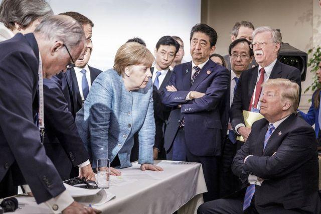سنہ 2018 میں جی 7 کا اجلاس