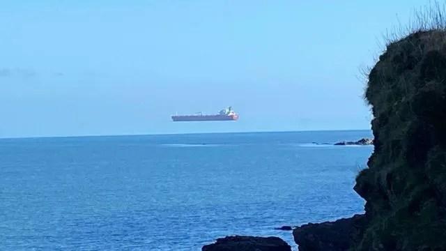 데이비드 모리스는 콘월 인근 해안가에서 이 사진을 촬영했다