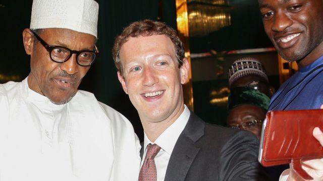 "[Mark Zuckerberg twitter account] and ""#TwitterBan in Nigeria"": Facebook CEO tweet against Buhari?"